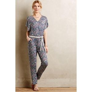 Cute Printed Jumpsuit from Anthropologie!